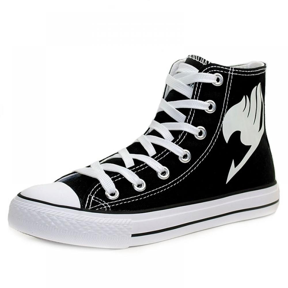 #model #cool Luminous Fairy Tail Logo Sneakers