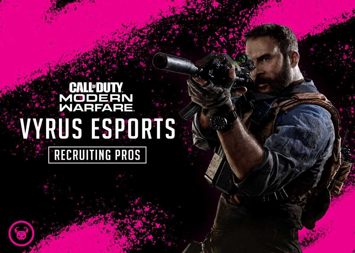 SEMI-PRO & PRO MW PLAYERS   Holding Tryouts for our eSports team 2/24 @ 5PM EST  Requirements: - NAE Players preferred - CDL Playlist, Map and Callouts Necessary - Good Comms & Game Knowledge  For more info join our discord server: https://discord.gg/DPBvcDY  Retweets Help!pic.twitter.com/gagUXU0vcM