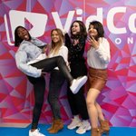 Image for the Tweet beginning: VidCon London has been a