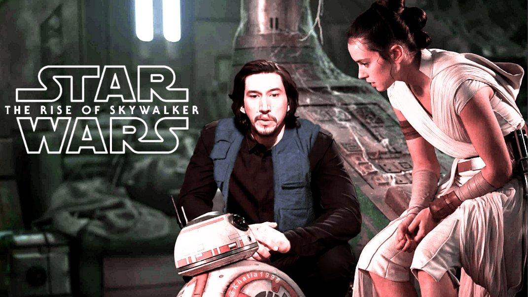 My New ArtWork! Star Wars: The Rise of Skywalker  True Ending! ♥♥ #DaisyRidley #AdamDriver  #Reylo #Rey #BenSolo #ReyloLove @AdamDriverLatam @reylo_arg @rollerderby @reylosource  @semirama  @Leila__Princess @ayusuikuu