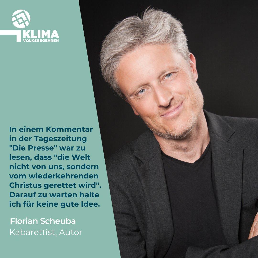 Florian Scheuba setzt sich für mutige Klimapolitik ein und unterstützt das #klimavolksbegehren!  Unterschreibe auch Du für echten Klimaschutz und hilf uns zum Fixstart ins Parlament: https://klimavolksbegehren.at/unterschreiben/ #klimawandel #klimaschutz #machtsendlich #promispic.twitter.com/gCkPrUEUxy