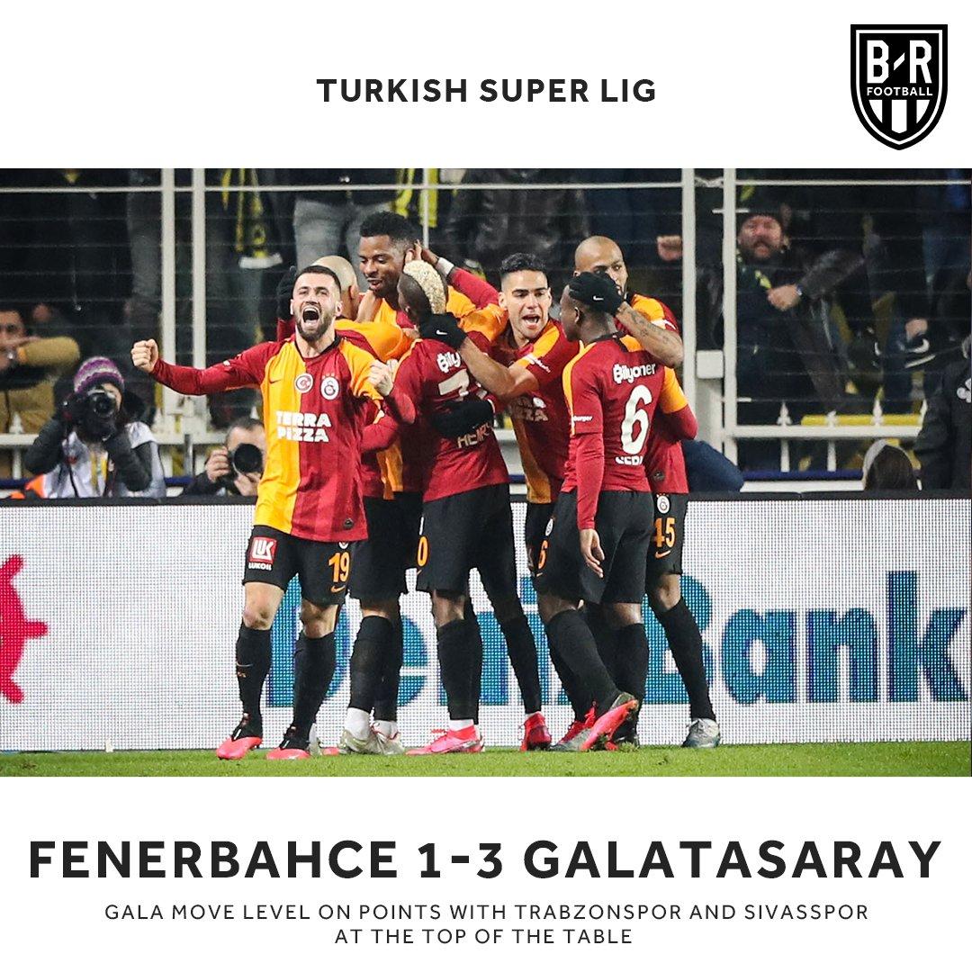 Galatasaray win it late in the Intercontinental Derby 💪 https://t.co/oSjy0PvRNP