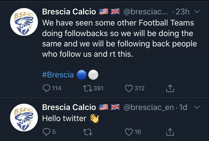 RT @S_K_MOORE: Whoever created these two aforementioned accounts also created one for @BresciaOfficial. https://t.co/1EqKcK4I56