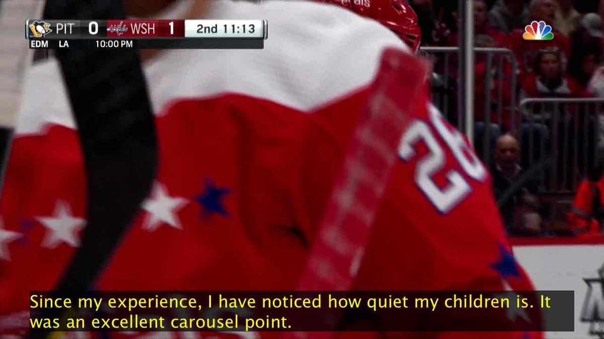 Since my experience, I have noticed how quiet my children is. It was an excellent carousel point. pic.twitter.com/kNwXHpGHUn
