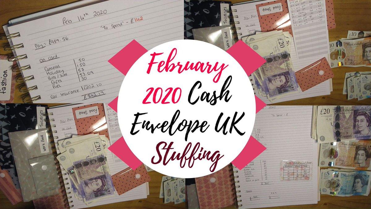 Cash Envelopes UK Stuffing - February 2020!! https://buff.ly/2vRreT6 #CashEnvelopes #budgeting #money #lbloggers #thegirlgang #savings #budget #cash @UKBloggersRT @TheGirlGangHQ