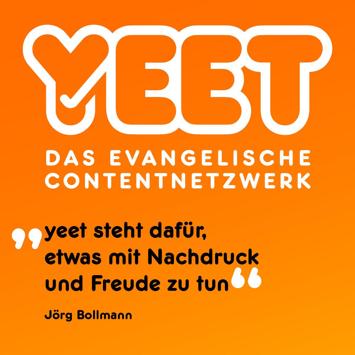 Mit #yeet soll die Vielfalt des christlichen Glaubens abgebildet werden. #Sinnfluencer #glaube #socialmedia #contentnetzwerk Mehr zu yeet: https://chrismon.de/node/48326pic.twitter.com/PkSV91NRUT