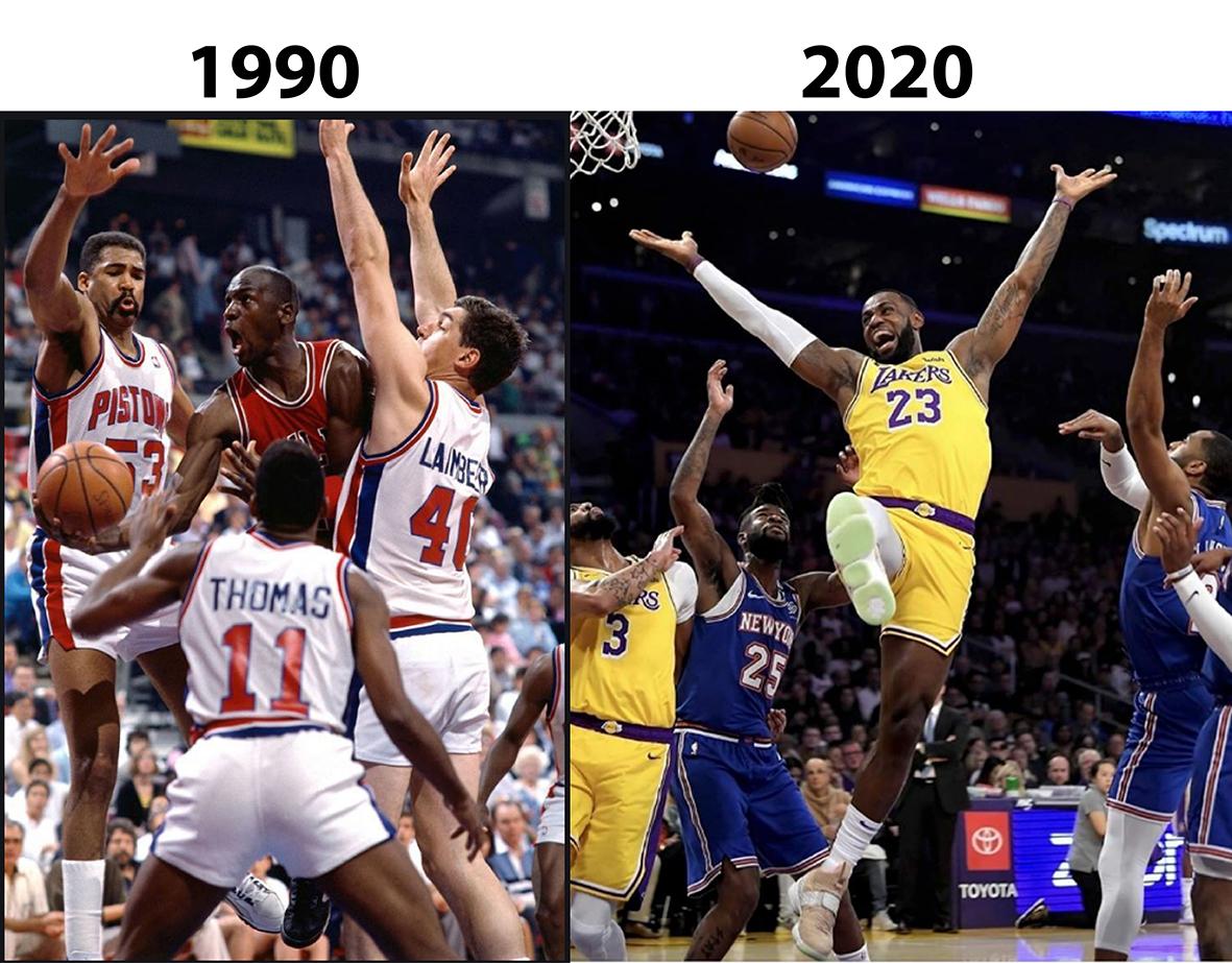 Was the league tougher in the 90s? #sportscards #thehobby #lakersnation #paniniamerica #lebron #michaeljordan #zionwilliamson #autograph #groupbreaks #basketballcards #hobbystore #cherrycards  #sportscardscollector #livebreakpic.twitter.com/VmY2miYz0y