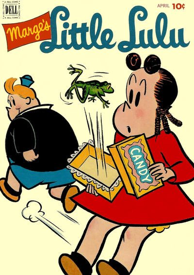 Some more Little Lulu covers for her 85th anniversary. Cover art by Irving Tripp.
