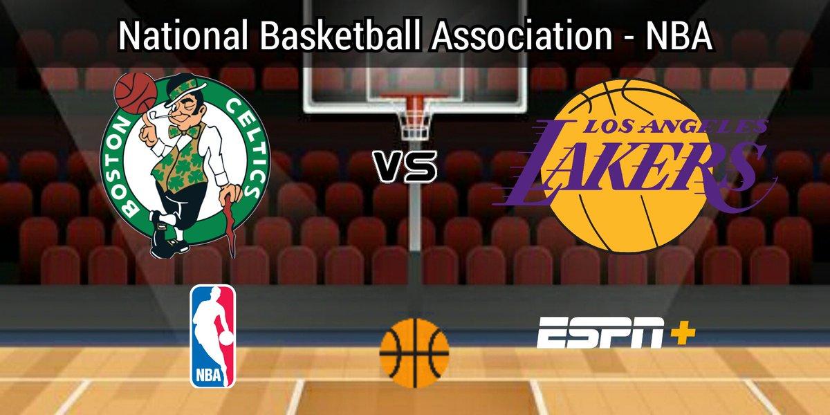 #NBA - #NBAxESPN  #Celtics vs #LakeShow ⏰ 14:30 hrs 🇲🇽 15:30 hrs 🇨🇴 16:30 hrs 🇻🇪 17:30 hrs 🇦🇷 📺 #ESPN + Latinoamérica con:  🎙 @EitanBenezra  🎙 @tonhorodriguez