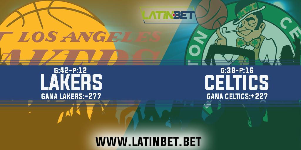 LAKERS VS CELTICS 🏀🔥  Empieza la tarde de #NBaSunday con éste gran partido entre los #Lakers de #Lebron y #Davis contra el #Celtics de #Walkers y #Tatum, veremos que tal acaba ésta gran rivalidad.  ¿Quién crees sea el ganador #latinpana?  #Latinbet #PegateALaEmocionDeGanar 👊
