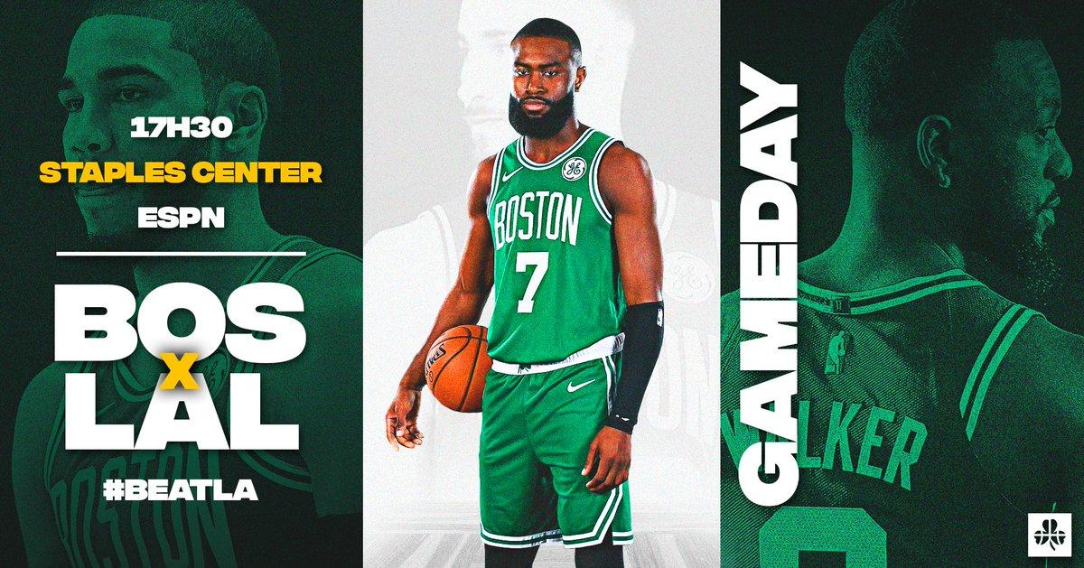☘GAMEDAY☘  #Celtics #BleedGreen #BeatLA