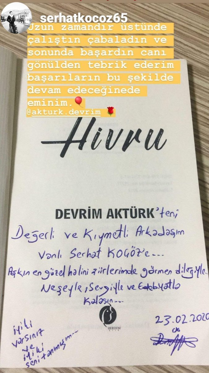 @serhat1907ko TÜM KİTAP SATIŞ MERKEZLERİNDE... 👇👇👇 #love #TFLers #tweegram #photooftheday #20likes #amazing #smile #follow4follow #like4like #look #iphoneonly #instagood #bestoftheday #instacool #instago #all_shots #follow #webstagram #erzurum #amed #diyarbekir #diyarbakır
