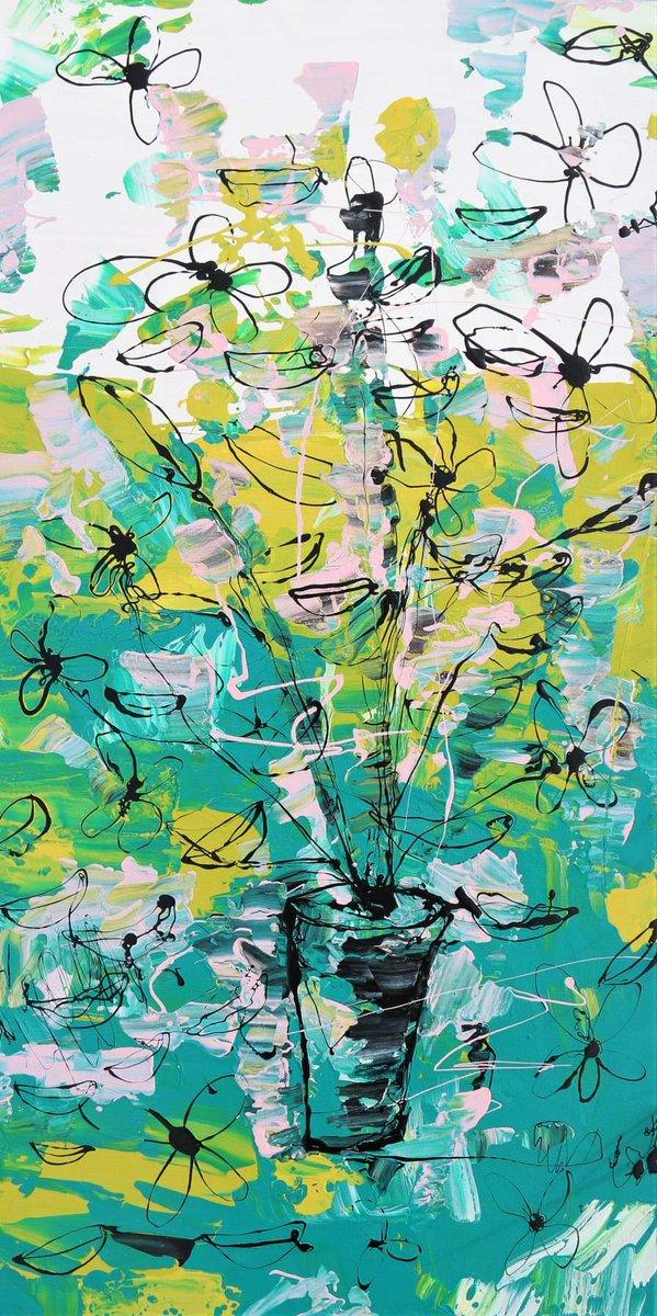 J'ai pensé vous envoyer des fleurs #adelinegaffez #new disponible sur @kazoart #adelinegaffez #painting #colors #art #contemporaryart #frenchartist #madeinfrance #flower #nature #paysage #evasion #womenartist #artenligne #galerieartpic.twitter.com/oKDLgJNXuG
