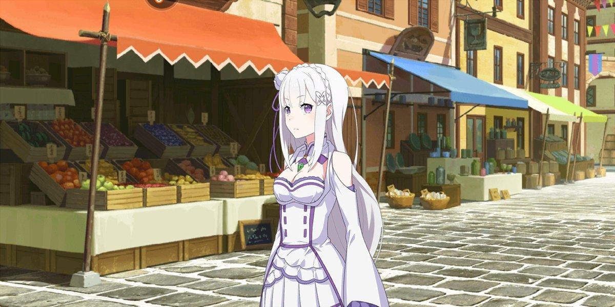 Probando el juego de #ReZero #MobileGames #GachaGames #AnimeGames
