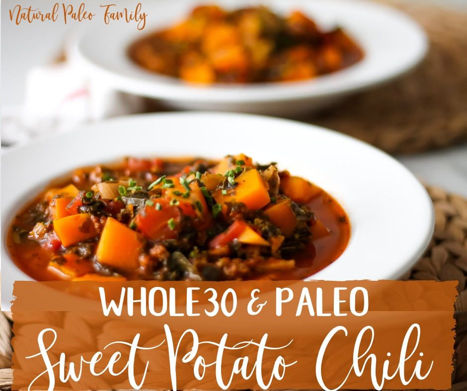 This hearty sweet potato #chilli is a must-try if you're craving a #Paleo or #Whole30 alternative to your favorite comfort food!   https://buff.ly/2SzIIMN via @naturalpaleofampic.twitter.com/BXaHebW7Jg