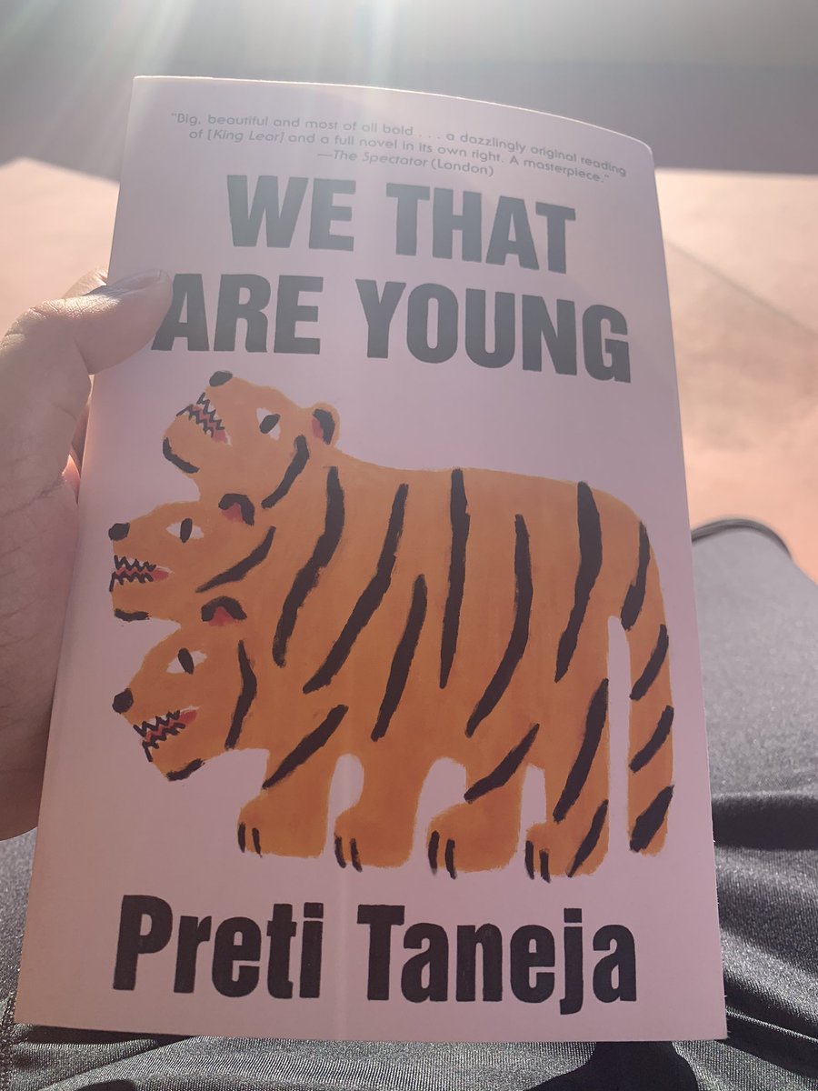 In other news, next up on the reading list is a book by a #desi author, @PretiTaneja #reading #books