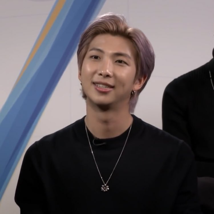 namjoon is so gorgeous!! I MEAN JUST LOOK AT HIM his smile, his skin, his hair, everything about him @BTS_twt