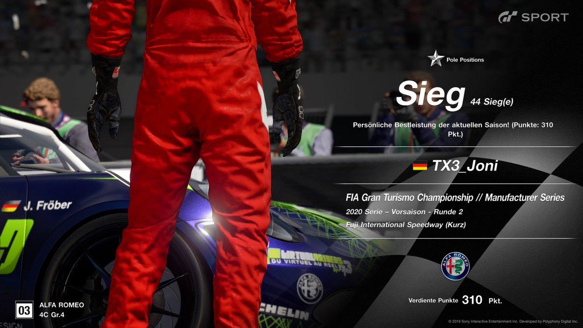 Yeeeeeeesss we did it  <3 Win !! #FIA #ManufacturCup #Alfa #PolePosition #TX3 #Happy #PS4share