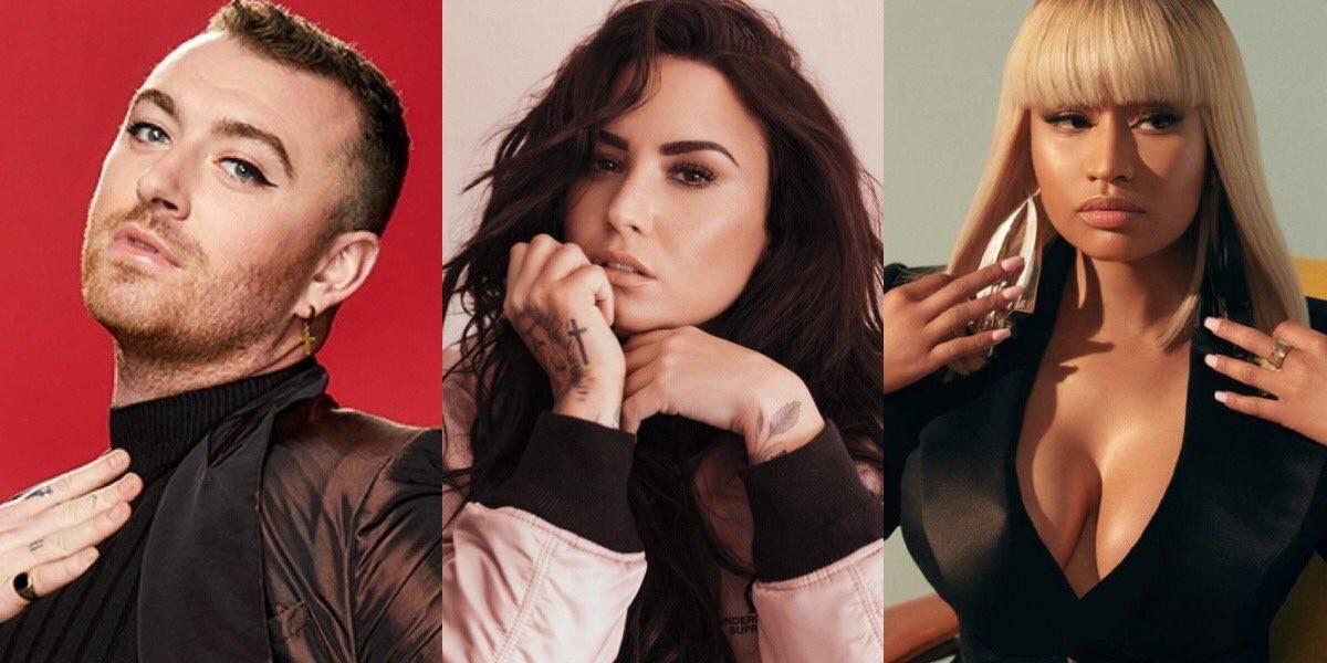 """Se dio a conocer que la nueva colaboración de Sam Smith y Demi Lovato se titula """"I'm Ready"""" y el video musical se está filmando actualmenteSam Smith también tiene una colaboración en puerta con Nicki Minaj titulada """"Love In C Major"""" que se incluirá en su próximo álbum #ToDieFor"""