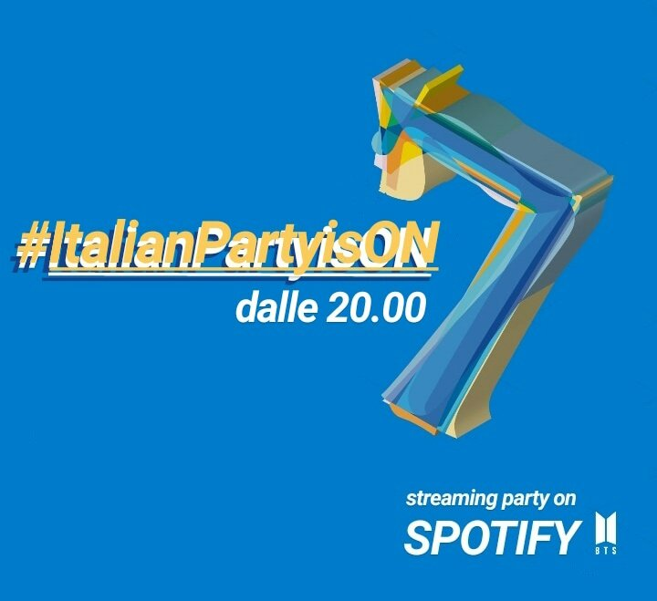 #ItalianPartyisON