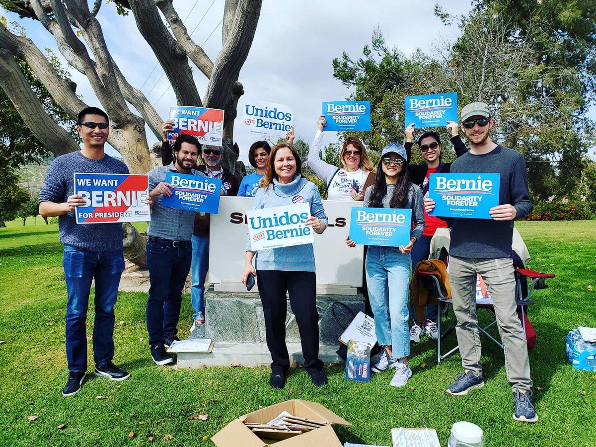 Canvassing Laguna Hills today  #Bernie2020 #NotMeUs #NoMiddleGround #StillBerning #FeelTheBern #WomenForBernie #BernieYellsForUs #ITrustBernie #ILikeBernie #IStandWithBernie #IEndorseBernie #SiSePuede