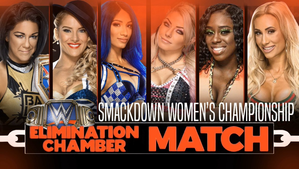 @ImVelena Well I guess we are gonna have 3 chamber matches which is odd. I can dig it tho. Saw this floating around right now. Not sure if its true tho.