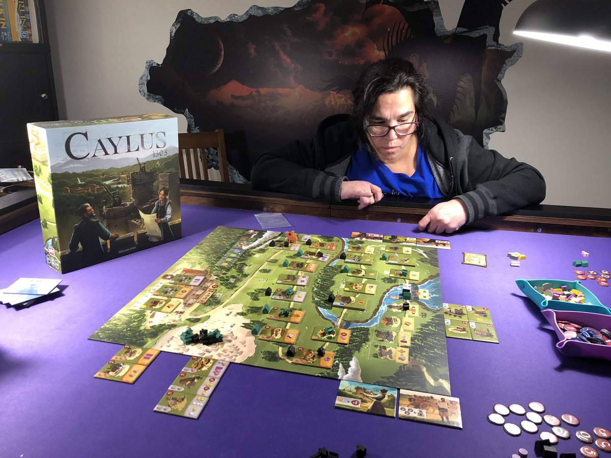 #Caylus was fun even the mean parts. She drew blood first but I won so we're cool.pic.twitter.com/VXihbExZ0t