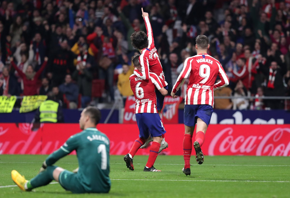 Joao Felix scores his first La Liga goal since September 🔴⚪️ https://t.co/3lJaXrWcMF