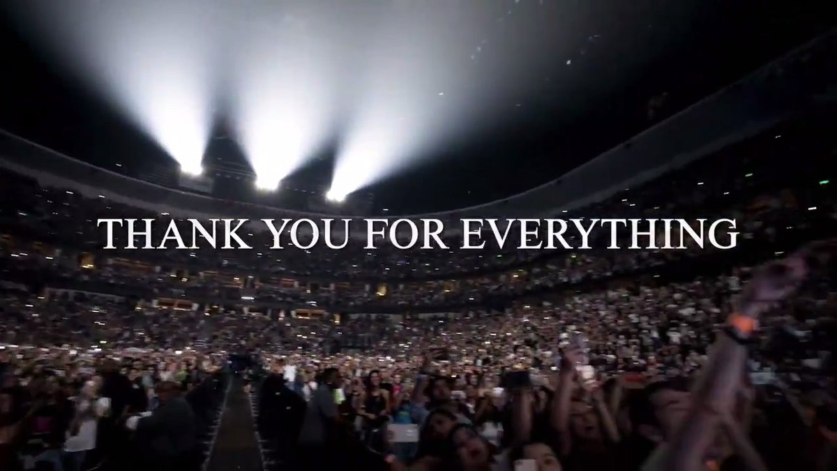#February #Crazy2020 #YearInReview @jonasbrothers #HappinessBeginsTour This was a thankyou to the fans for coming to the shows 🥺