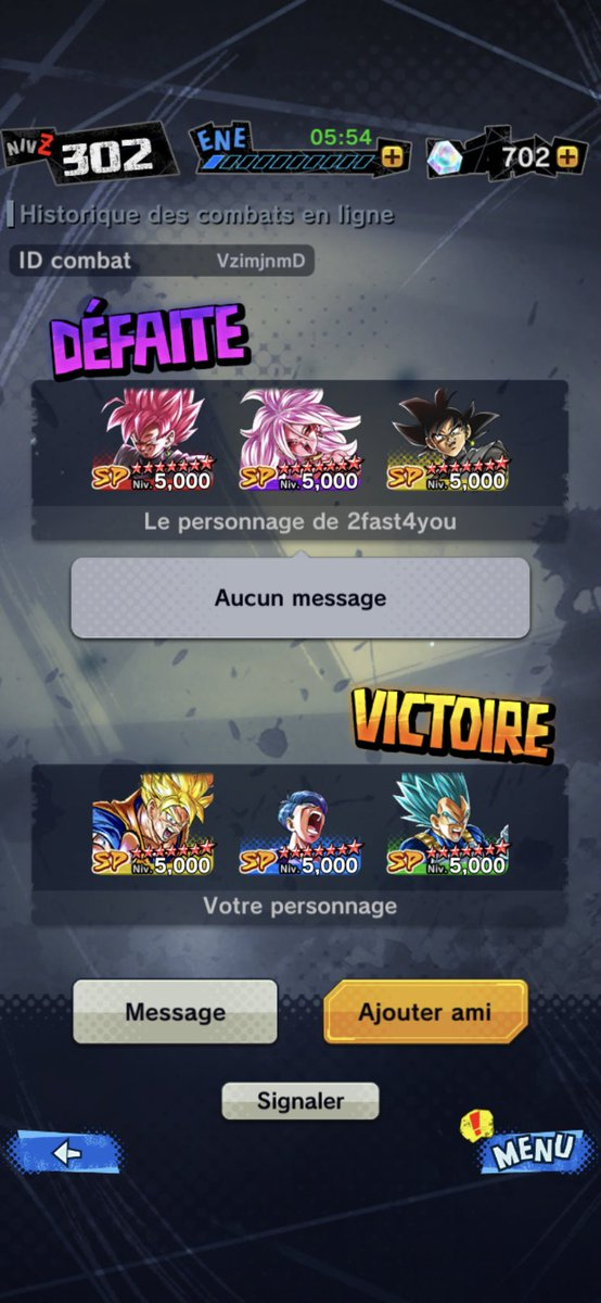 Cheater again with 13k points pvp #dragonballlegends  you sleep pic.twitter.com/oXbOJow1WD