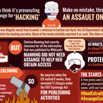 Don't be fooled: Julian Assange is a journalist, not a hacker, and the US wants to make his work—national security journalism—a crime. #DontExtraditeAssange #AssangeCase