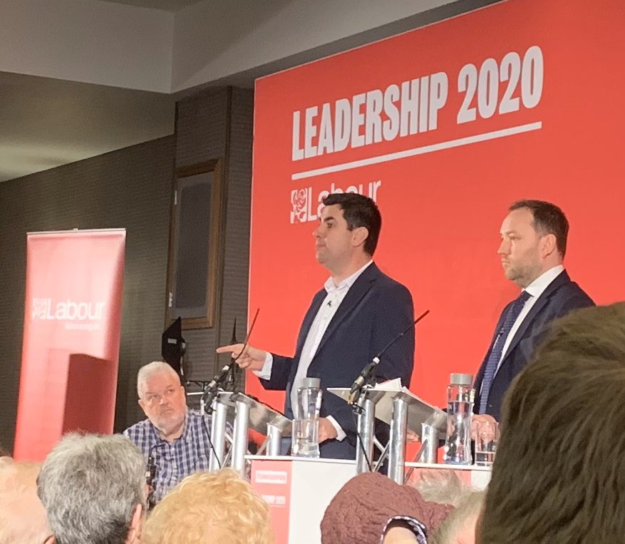 I think what I liked most from @RichardBurgon today at the Deputy Leadership hustings in Durham was the commitment to empower conference. Too few of our MPs talk about this long-standing demand from the grassroots of the movement, but it is a vital cog in democratising the party.