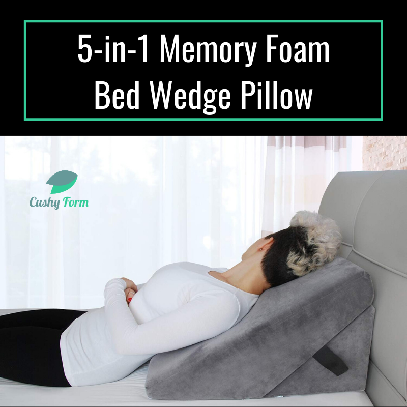 MULTI PURPOSE 5-IN-1 DESIGN: Our 5-in-1 folding memory foam wedge pillow uses a foldable design that lets you use it to support your back, head and even legs. #healthpillow  #homecare  #healthproducts   Get it now:  http://bit.ly/37vsLeF