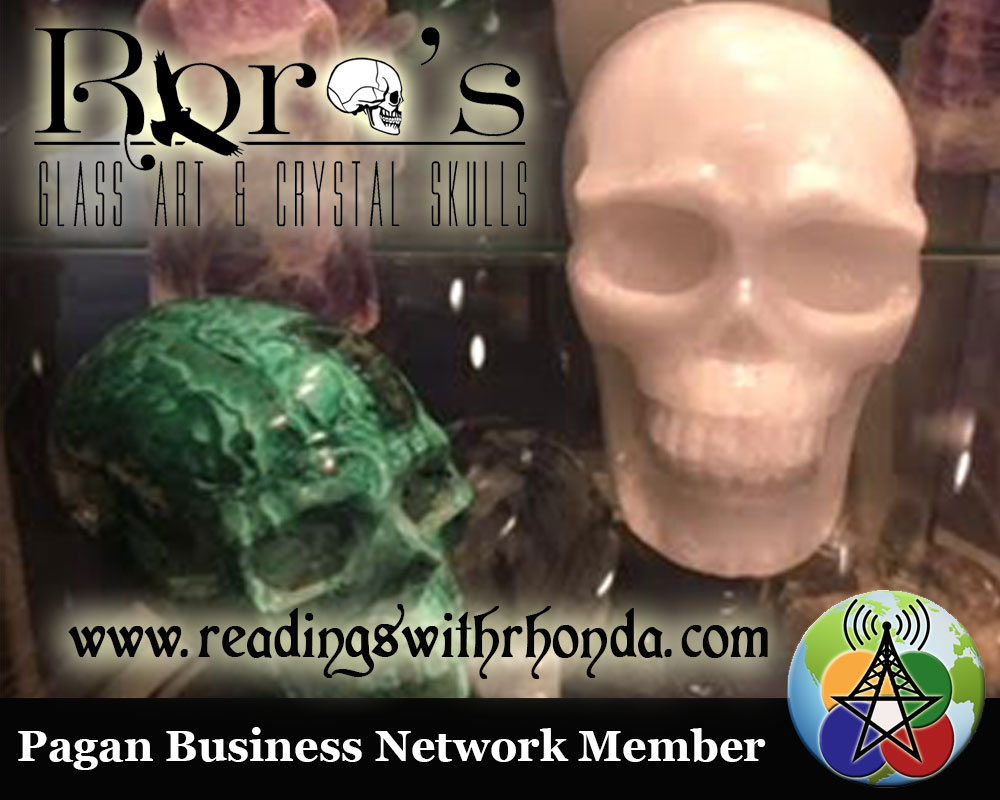 Roro's Glass Art and Crystal Skulls Energy Healing Centre and Metaphysical Shop. #paganbusinessnetwork #rorosglass #skulls #metaphysical #healing http://readingswithrhonda.com