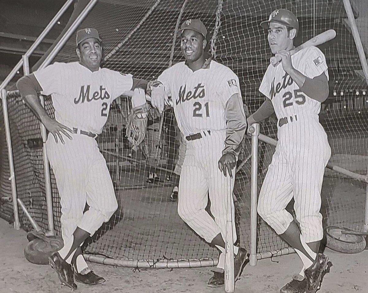 Tommie Agee, Cleon Jones and Amos Otis (the one that got away). #LGM #MetsRewind