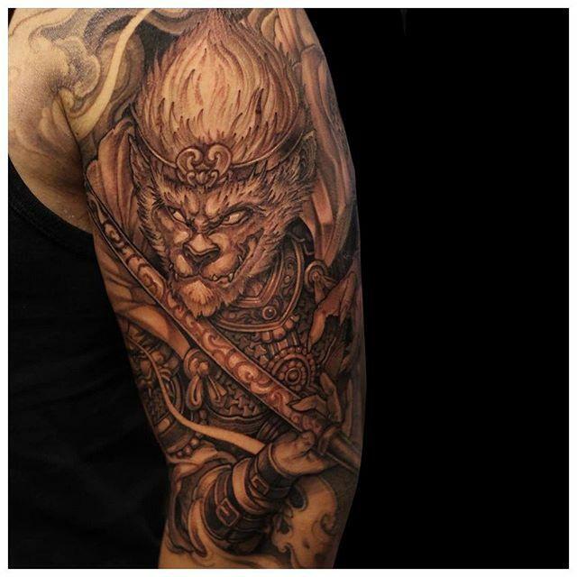 Monkey King in-progress by @patrick_chronicink #CreateArt - #torontotattoo #torontotattoos #customtattoo #tattoo #tattoos #art #instaart #tattooideas #tattoosocial #design #inkstinctsubmission #tattoodo #inspiredinktattoo #tattoomobile #toronto #tattooed… https://ift.tt/2HOfqUjpic.twitter.com/MLaxlPFD9B