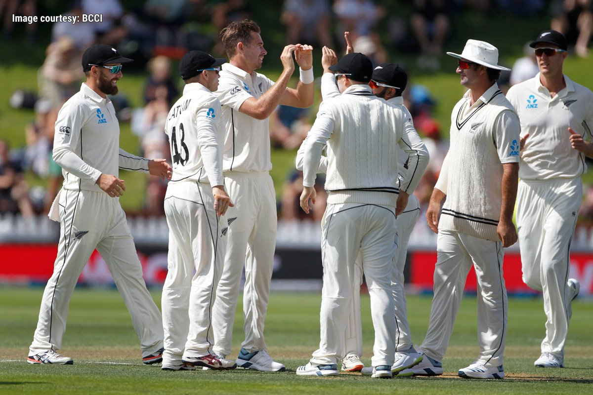 Kiwis trump #TeamIndia  to claim 100th Test win   A spirited performance with both bat and ball ensures a 10-wicket win for New Zealand in the first Test. Can the #MenInBlue level the series?   #NZvIND #YehHaiNayiDilli #ThisIsNewDelhi #DelhiCapitals<br>http://pic.twitter.com/aoFy2xU6n5