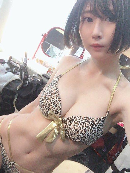 グラビアアイドル美東澪のTwitter自撮りエロ画像61