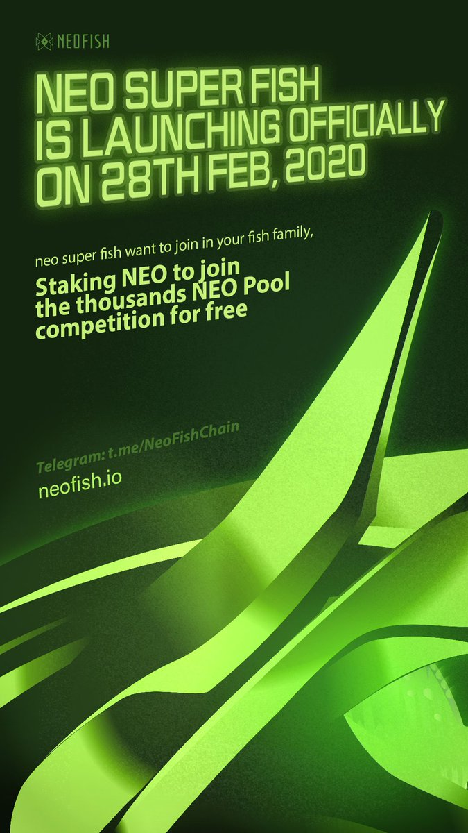 🥳Congrats to the 300-day anniversary for @NeoFishChain, one of the earliest projects in the #Neo ecosystem.  Enjoy the new update!