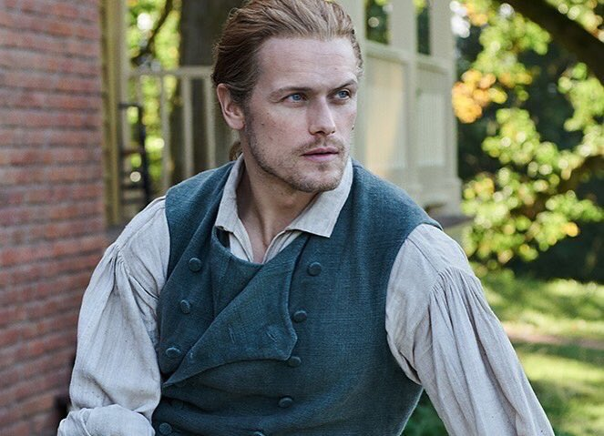Of course. We love him @SamHeughan #SamHeughan #perfectJamieFraser#Outlander #TheFrasers #TheMacKenzies #somosgabs