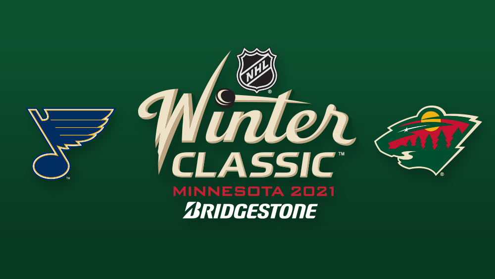 The National Hockey League announced today that the @mnwild will face off against the @stlouisblues in the 2021 @Bridgestone NHL #WinterClassic.  Full details: