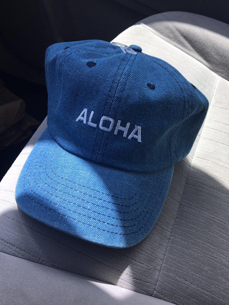https://kailuabicycle.com/tours/kailua-tour/… .  ALOHA & HAWAII Cap 明日から店頭に並びます。 $18-から$25-です。 #刺繍 #アロハ #キャップ #ハワイ #aloha  #hawaii  @kailuabicycle