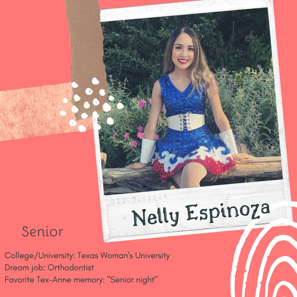 For today's #SeniorSunday spotlight we have 2 year member Nelly Espinoza!   • 2 months until Spring Show! • #shhs #samfam #gradsznpic.twitter.com/t5kgGaKTCA