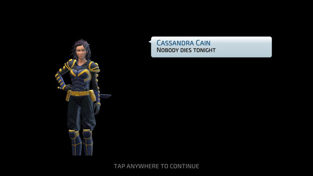 She may not be 5* but dayum I'm happy as hell to have unlocked Cassandra all the same. Oh and I got Deadshot to 4* as well. Also can't wait for Hawkman to arrive next month #DCLegends pic.twitter.com/B0XrsKCu7S
