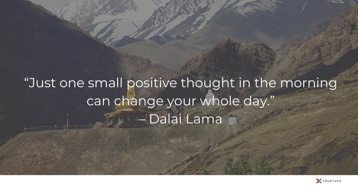 Believe and you will make it!  #Xperteks #ITconsultancy #ITservices #ITsupport #quote #motivation #inspiration #dalailama #spirituality #meditationpic.twitter.com/W3xzNriQN4