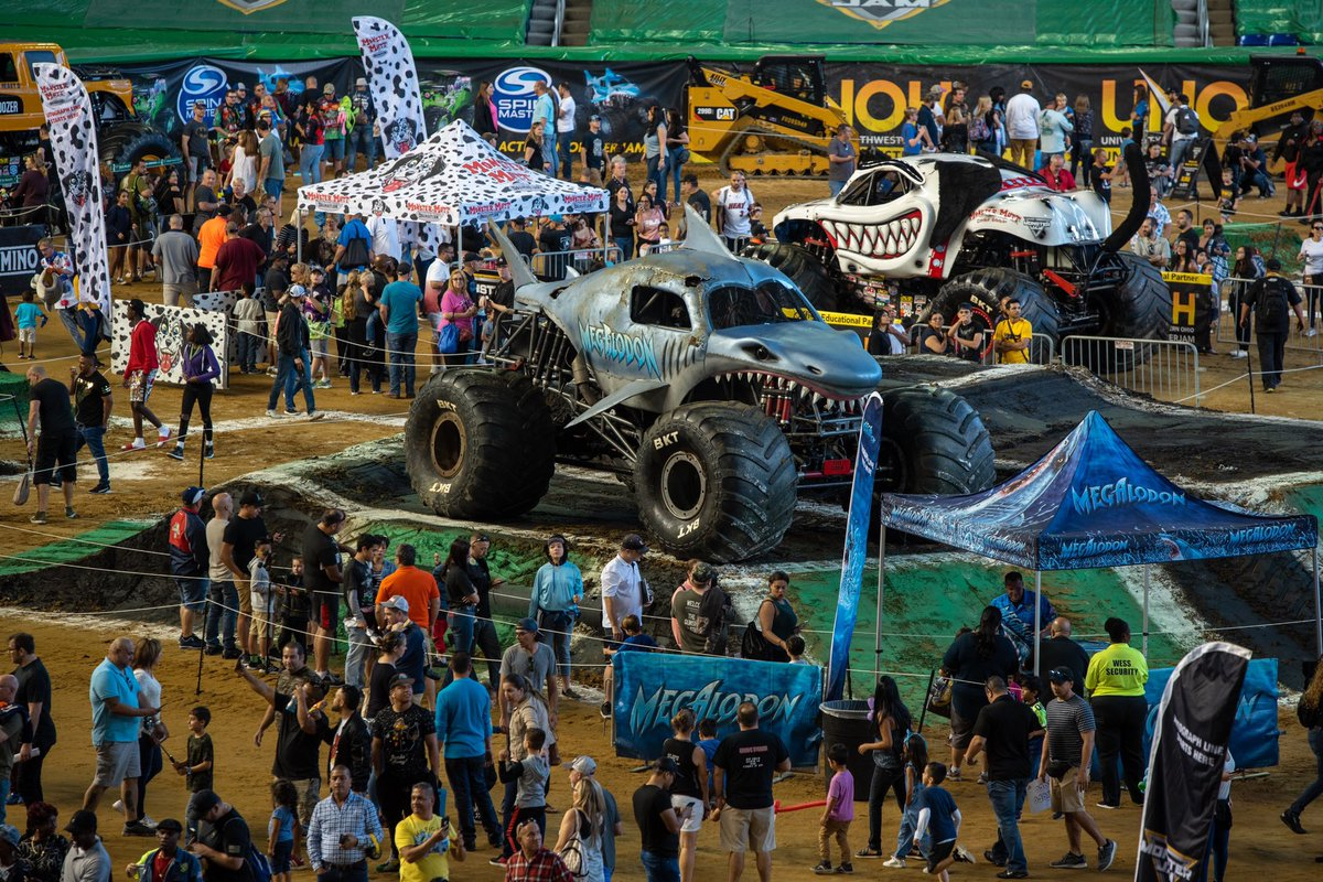 What a weekend 🙌 Thanks for the thrills, @MonsterJam!