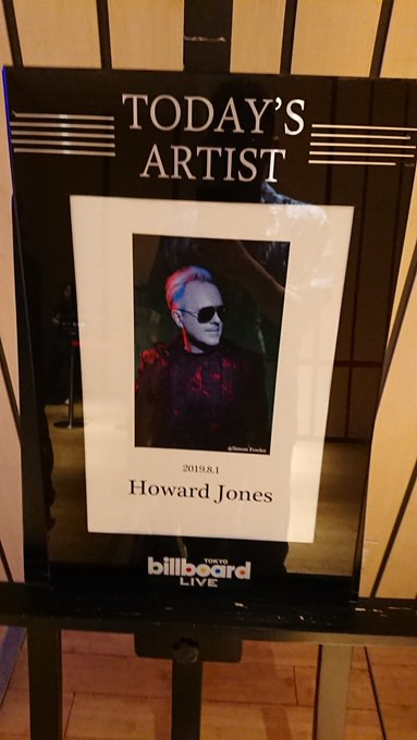 Happy Birthday, Howard Jones (1955.2.23-)