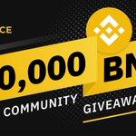 Image for the Tweet beginning: #Binance is giving away over