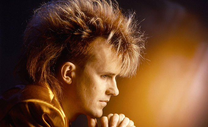 Howard Jones - What Is Love  via Happy Birthday Howie