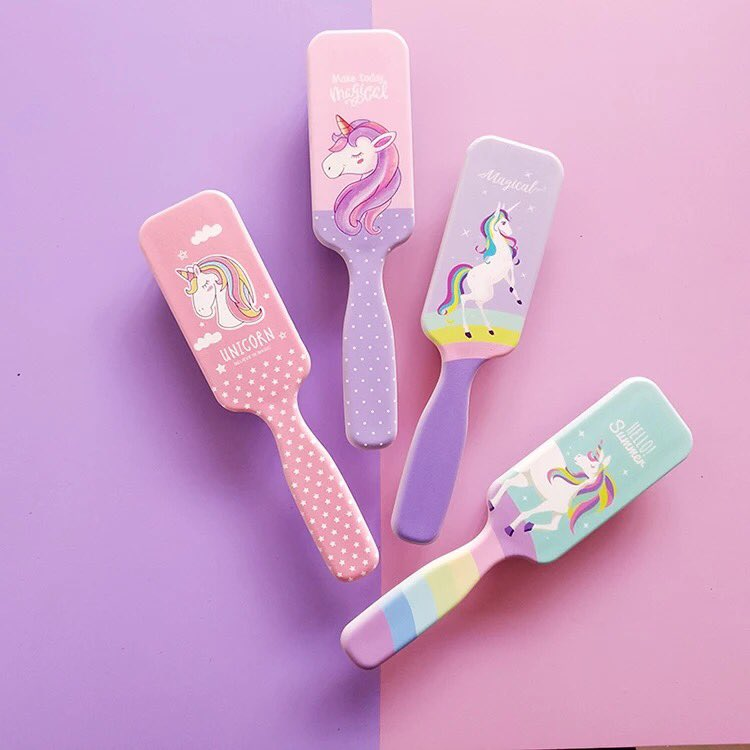 Super cute Unicorn hair brushes for your littles.   Little Pink Mermaid. Whimsical, fun, sweet & sassy pretties for little girls. Our online shop opens soon. . #littlepinkmermaid #kidsfashion #kids #girlythings #girls #girly #accessories #unicorn #sunday#brushpic.twitter.com/ufgGllixMu